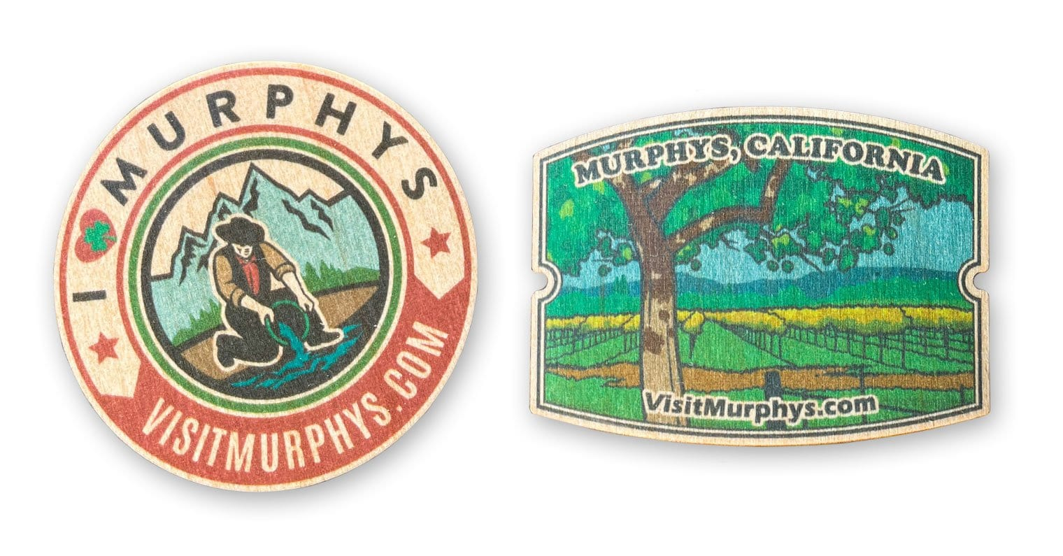 Murphys Wooden Stickers